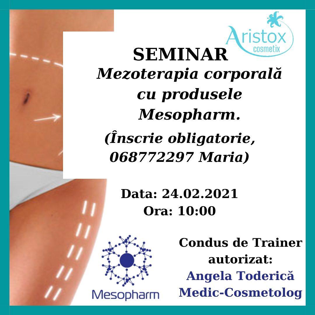Seminar Tema: Mezoterapia corporală cu produsele Mesopharm.